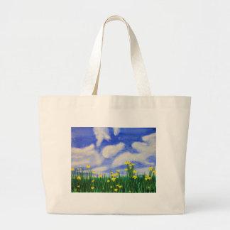 Gulf Cove Flowers in a Bright Field Bag