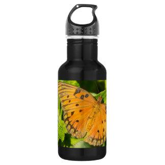 Gulf Fritillary Butterfly 18oz Water Bottle