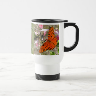 Gulf Fritillary Butterfly Lifecycle Thermal Cup