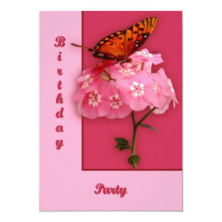 Gulf Fritillary Personalized Announcements