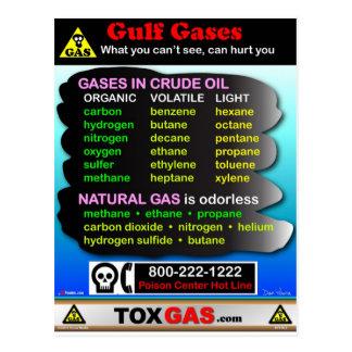 Gulf Gases Postcard