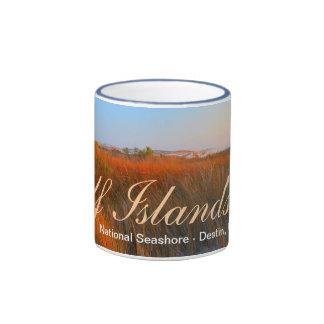 Gulf Islands National Seashore - Destin, FL Ringer Coffee Mug