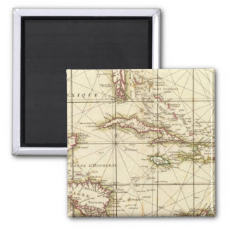 Gulf of Mexico 2 Inch Square Magnet