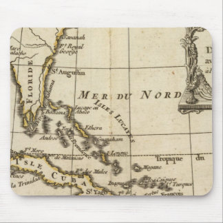 Gulf of Mexico, Caribbean Isles Mouse Pad