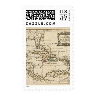 Gulf of Mexico, Caribbean Isles Postage