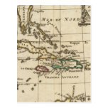 Gulf of Mexico, Caribbean Isles Postcard