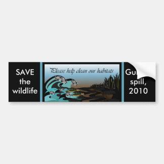 Gulf oil spill, 2010 bumper sticker