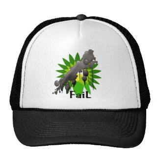 Gulf oil spill BP oil fail Trucker Hat