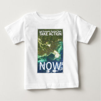 gulf oil spill take action baby T-Shirt