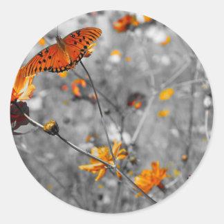 gulf orange sticker