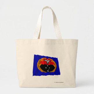 Gulf Province Waving Flag Canvas Bag