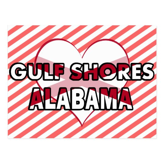 Gulf Shores, Alabama Postcard
