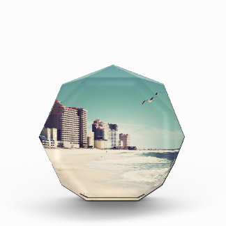 Gulf Shores, Alabama Sandwriting Beach Waves Words Award