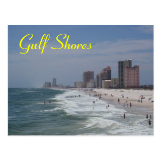 Gulf Shores postcard
