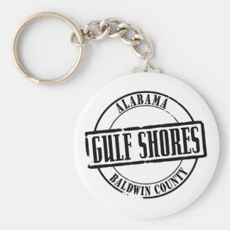 Gulf Shores Title Keychain