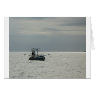 gulf shrimp boat card
