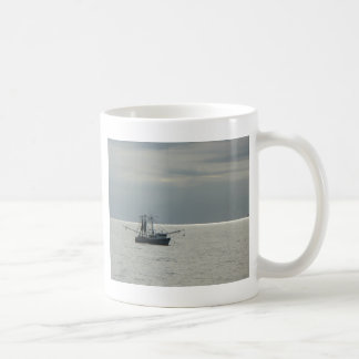 gulf shrimp boat coffee mug
