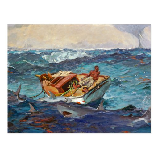 Gulf Stream by Winslow Homer Postcards