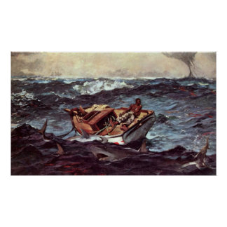 Gulf Stream de Winslow Homer Póster