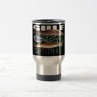 Gulf Sturgeon Collage - Travel Mug