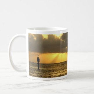 Gulf sunset vigil coffee mug