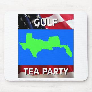 GULF TEA PARTY MOUSEPAD