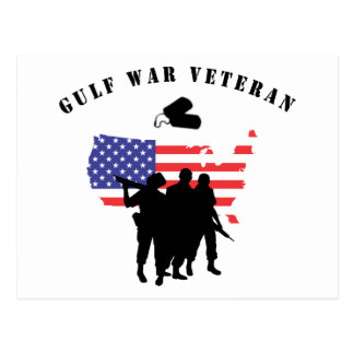 Gulf War Veteran Postcard