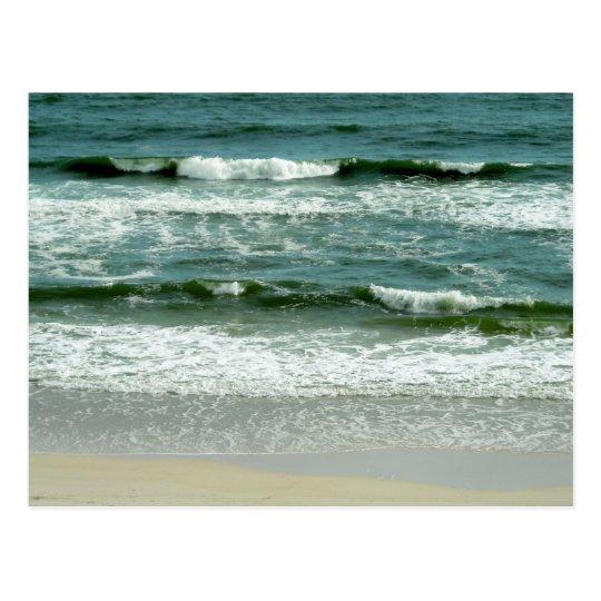 Gulf Waves Postcard