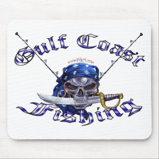GulfCoast Fishing Pirate Mouse Mat