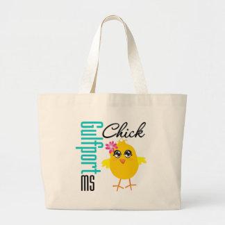 Gulfport MS Chick Jumbo Tote Bag