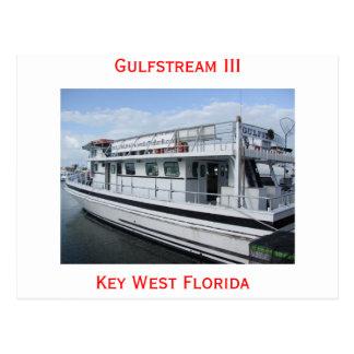 Gulfstream III Key West Postcard