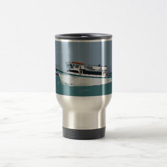 Gulfstream IV travel mug