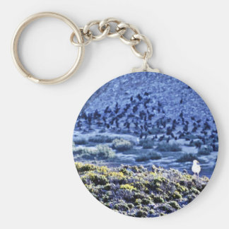 Gull And Cormorants Keychains