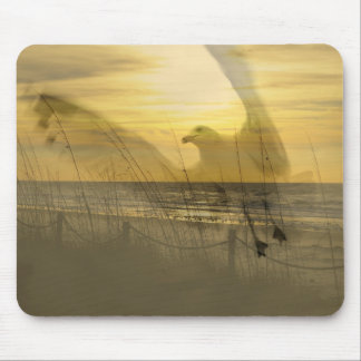 Gull By The Sea Mouse Pad