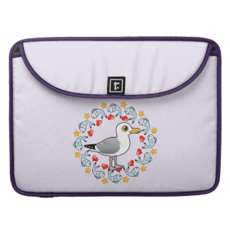 Gull Circle of Love MacBook Pro Sleeve