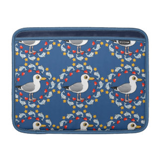 Gull Circle of Love Sleeve For MacBook Air