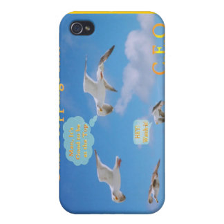 Gull Droppings Inc CEO iPhone 4/4S Cover