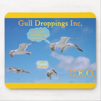 Gull Droppings Inc CEO Mouse Pad