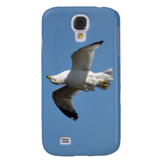 Gull Flying Upside Down Funny Wildlife Photography Galaxy S4 Case
