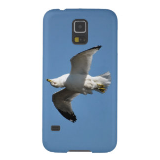 Gull Flying Upside Down Funny Wildlife Photography Galaxy S5 Case