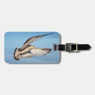 Gull in Flight luggage tag