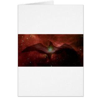 Gull in Space. Card