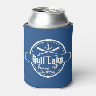 Gull Lake Minnesota anchor, paddles town and name Can Cooler