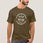 Gull Lake Minnesota anchor, paddles town and name T-Shirt
