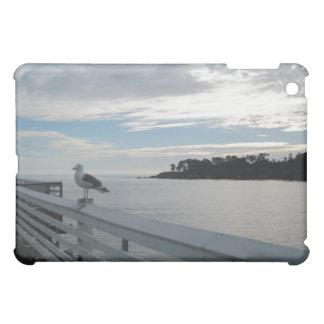 Gull on Pier at San Simeon State Beach Case For The iPad Mini
