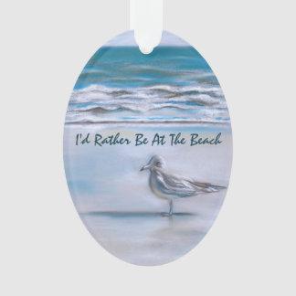 Gull on the Shore Ornament