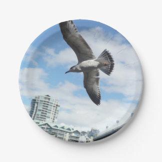 gull paper plate