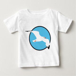 gull playera de bebé