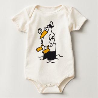 gull RK the harbour Baby Bodysuit