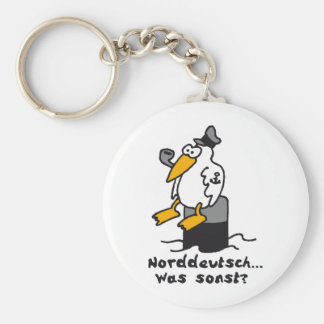 gull RK the harbour Keychain